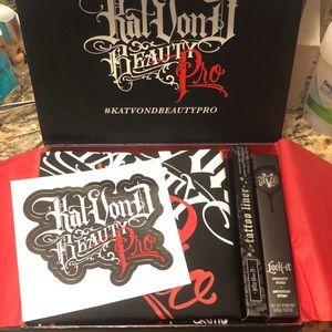 Kat von d beauty pro kit!